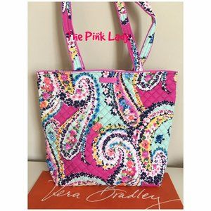 NWT Vera Bradley Shoulder  Bag WILDFLOWER PAISLEY